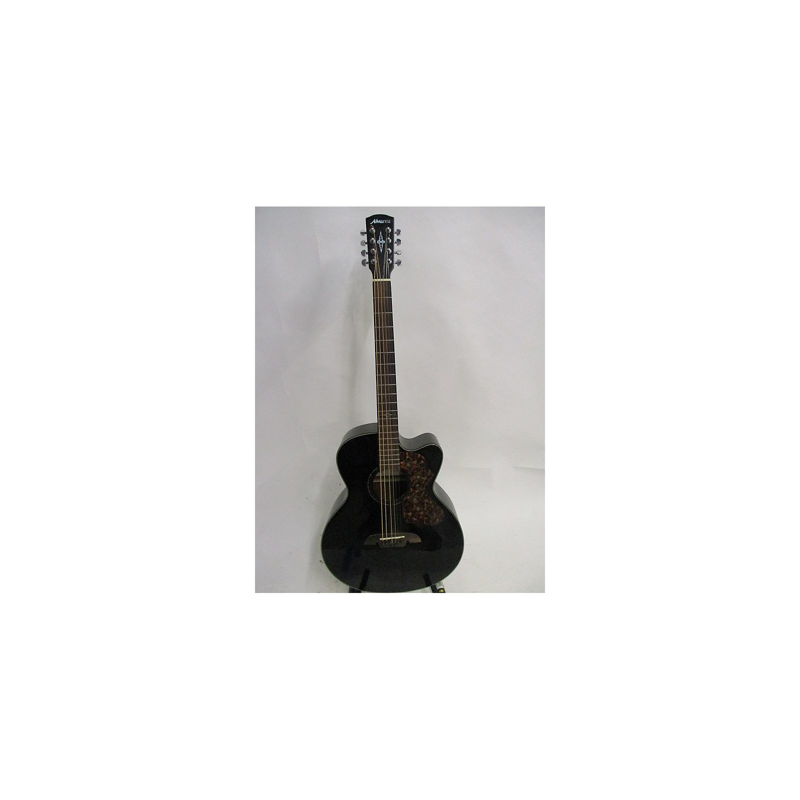 Alvarez ABT60CE Baritone 8 String Acoustic Electric Guitar