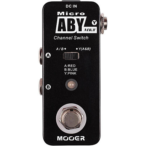 Mooer ABY MK2 Switch Effects Pedal