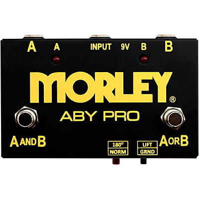Morley ABY Pro Selector Switch Pedal