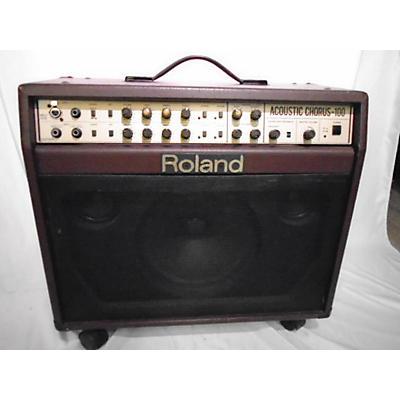 Roland AC-100W Acoustic Guitar Combo Amp