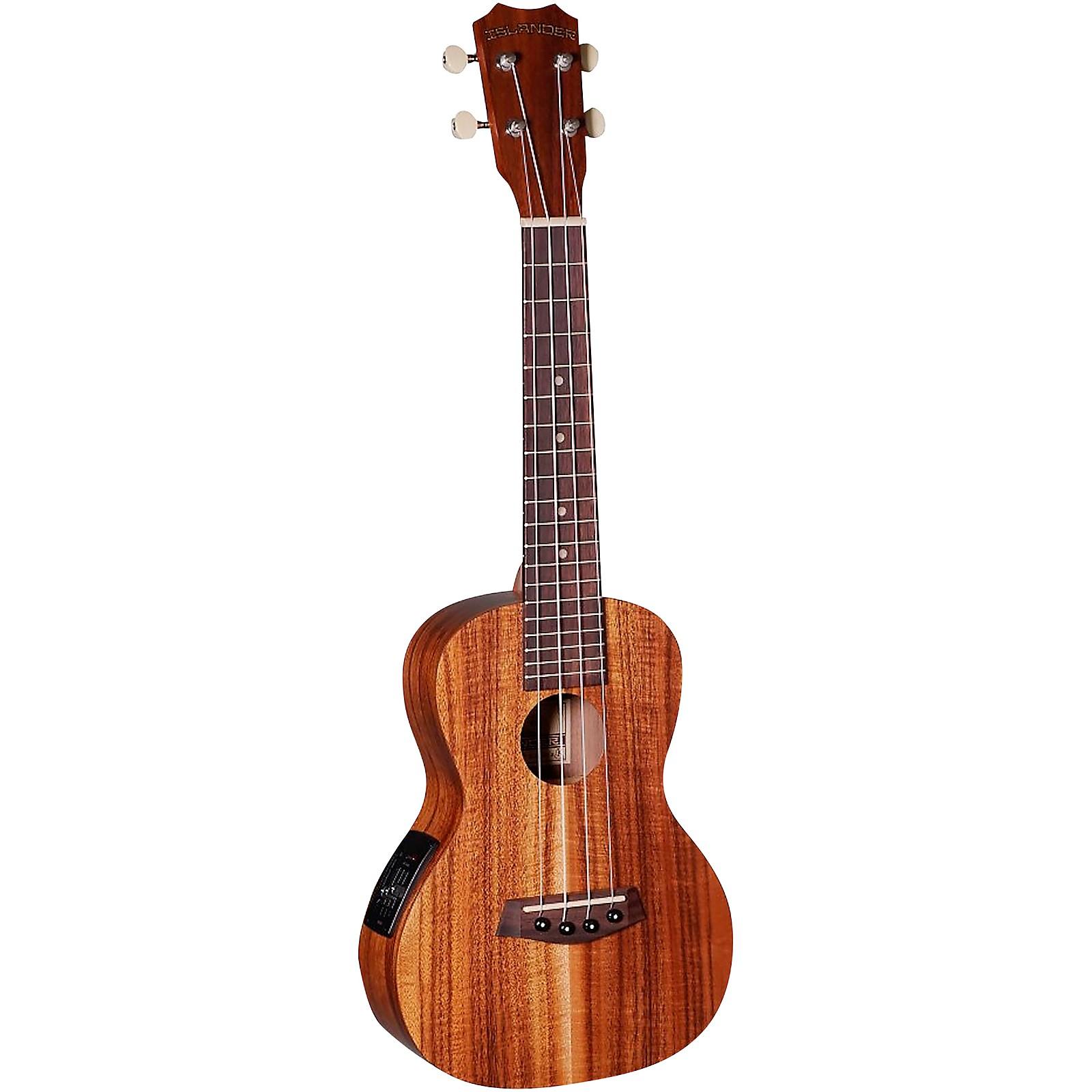 Islander AC-4-EQ Traditional Concert Acoustic-Electric Ukulele
