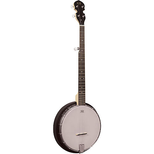 Gold Tone AC-5 Left-Handed Composite Resonator 5-String Banjo Black