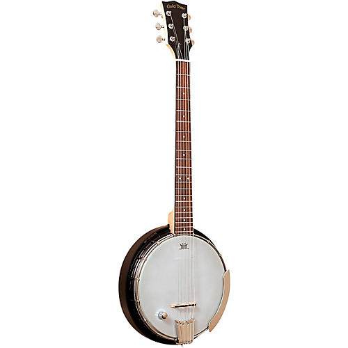 Gold Tone AC-6+/L Composite Left-Handed Acoustic-Electric Banjo Guitar With Gig Bag Condition 1 - Mint