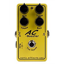 Open BoxXotic Effects AC Booster Overdrive Guitar Effects Pedal