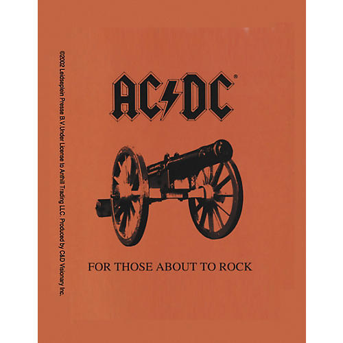 C&D Visionary AC/DC About to Rock Magnet