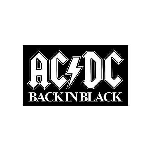 Gear One AC/DC Back in Black Patch