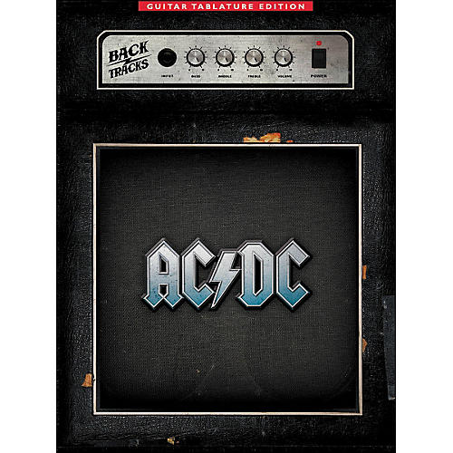 Music Sales AC/DC Backtracks - Guitar Tab Edition