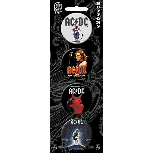 C&D Visionary AC/DC Button Set (4 Piece)