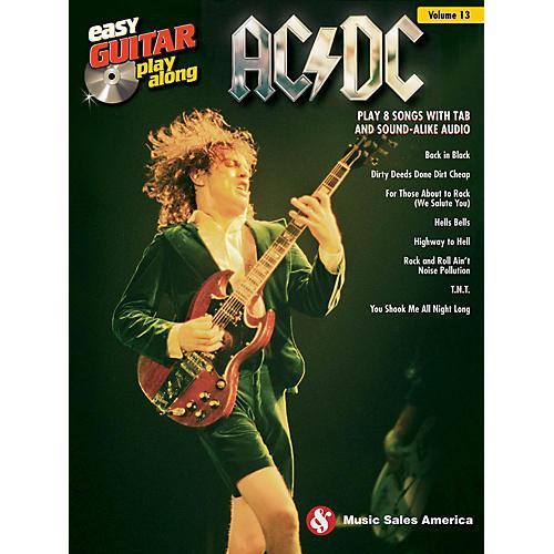 Hal Leonard AC/DC (Easy Guitar Play-Along Volume 13) Easy Guitar Play-Along Series Softcover Audio Online by AC/DC
