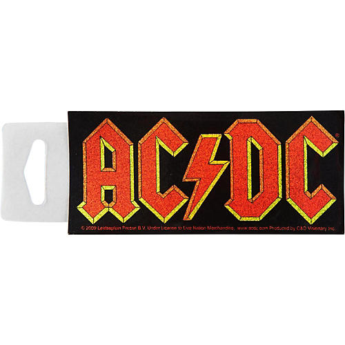 C&D Visionary AC/DC Glitter Sticker