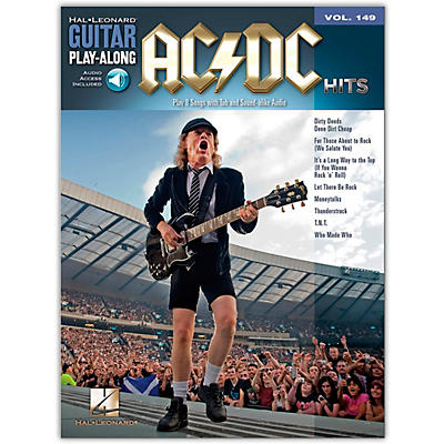 Music Sales AC/DC Hits Guitar Play-Along Volume 149 Book/Online Audio