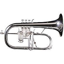 AC155-1-0 Professionel Bb Flugelhorn Silver Rose Brass Bell