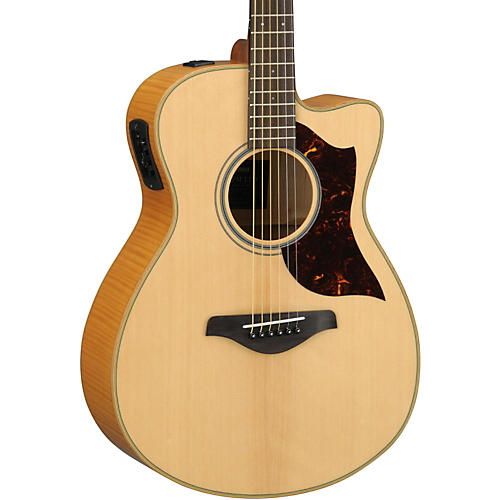 Yamaha AC1FMHC A-Series Flame Maple Concert Acoustic-Electric Guitar with SRT Pickup