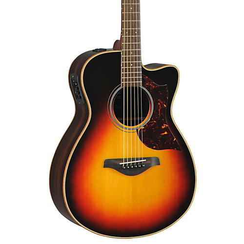 Yamaha AC1R Small Body Cutaway Rosewood B&S Acoustic-Electric Guitar