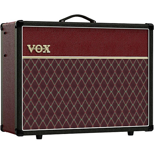 vox ac30s1 limited edition two tone 30w 1x12 tube guitar combo amp black and red musician 39 s friend. Black Bedroom Furniture Sets. Home Design Ideas