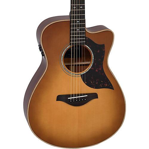 Yamaha AC3M DLX A Series Concert Acoustic-Electric Guitar Restock Sand Burst