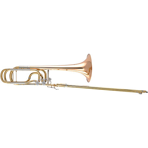 Antoine Courtois Paris AC420BT Legend Series Thayer F-Attachment Trombone Lacquer Rose Brass Bell