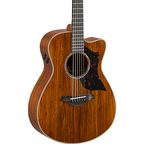 yamaha ac4kii limited koa small body acoustic electric guitar musician 39 s friend. Black Bedroom Furniture Sets. Home Design Ideas