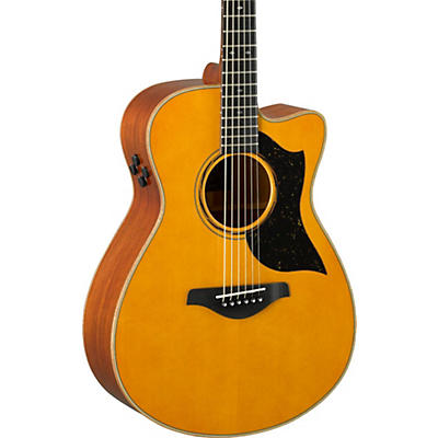 Yamaha AC5M A-Series Concert Acoustic-Electric Guitar