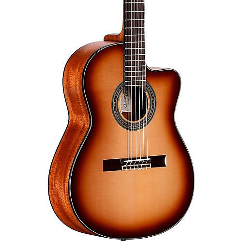 Alvarez AC610HCESHB Artist Classical Hybrid 14th Fret Acoustic-Electric Guitar Condition 1 - Mint