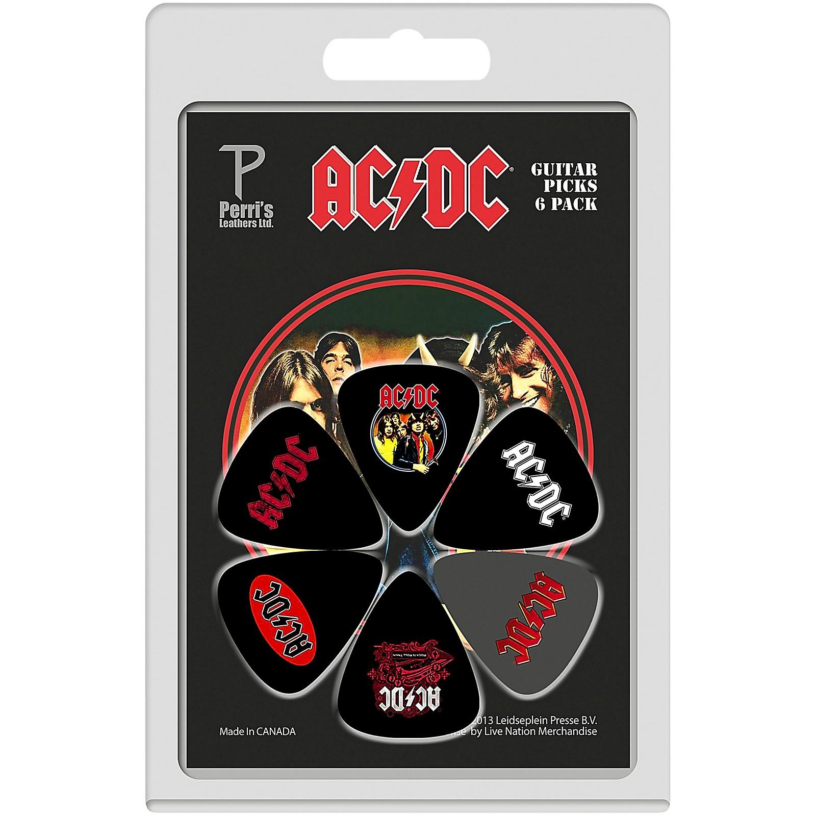 Perri's ACDC Guitar Pick 6-Pack