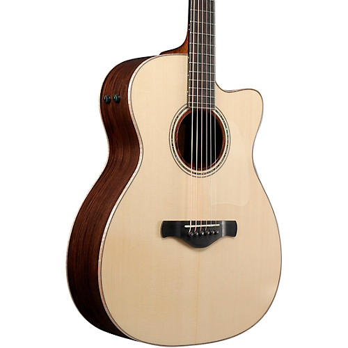 Ibanez ACFS580CE Artwood Fingerstyle All-Solid Grand Concert Acoustic-Electric Guitar Open Pore Semi-Gloss