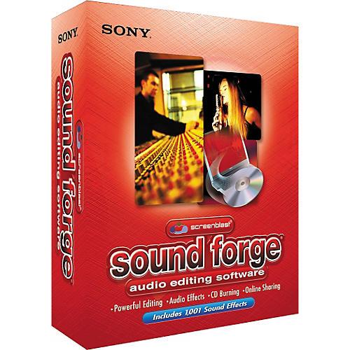 Sony ACID Loop Screenblast Sound forge