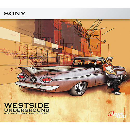 Sony ACID Loop Westside Underground: Hip-Hop Construction Kit