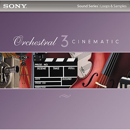 Sony ACID Loops - Orchestral 3: Cinematic
