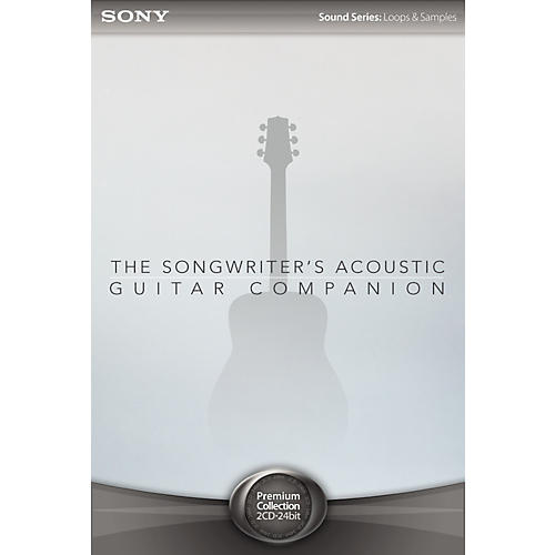 Sony ACID Loops - Songwriter's Acoustic Guitar Companion