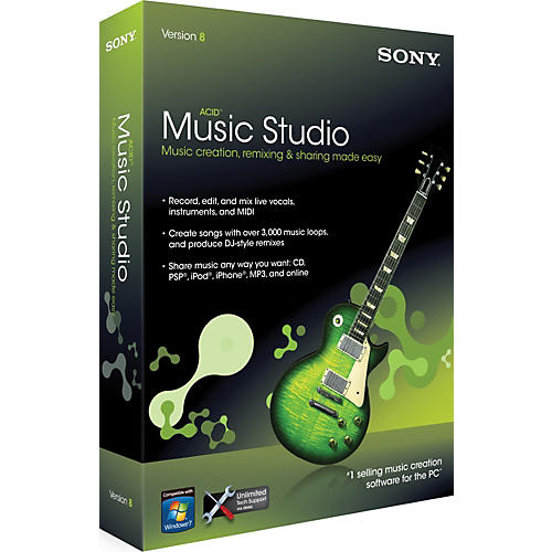 Sony ACID Music Studio 8.0