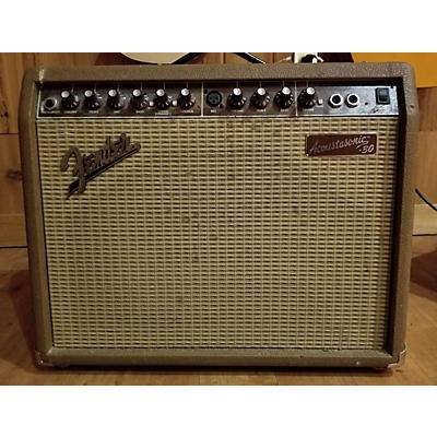 Fender ACOUSTASONIC 30W Acoustic Guitar Combo Amp
