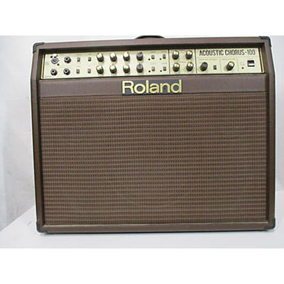 Roland ACOUSTIC CHORUS 100 Acoustic Guitar Combo Amp