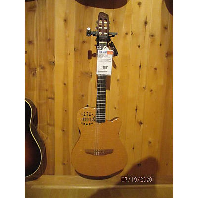 Godin ACS Custom Figured Maple W Ebony Fingerboard Classical Acoustic Electric Guitar