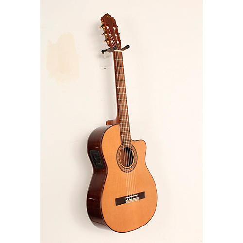 open box manuel rodriguez acut u nylon string classical acoustic electric guitar natural. Black Bedroom Furniture Sets. Home Design Ideas