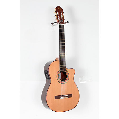 Manuel Rodriguez ACUT-U Nylon-String Classical Acoustic-Electric Guitar Condition 3 - Scratch and Dent Natural 190839812162