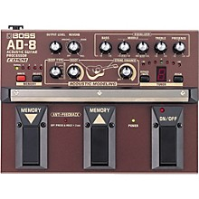 Open Box Boss AD-8 Acoustic Guitar Multi-Effects Pedal