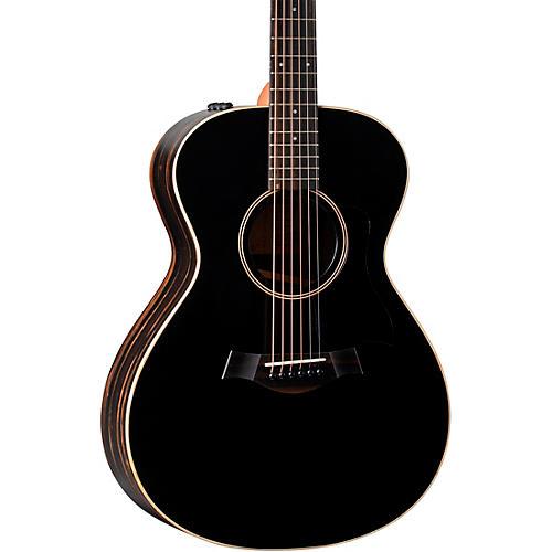 Taylor AD12e American Dream Grand Concert Acoustic-Electric Guitar Black