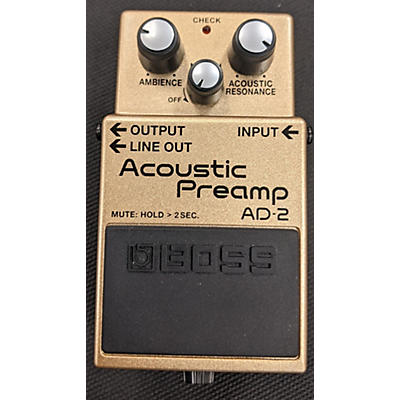 BOSS AD2 Acoustic Preamp Guitar Preamp
