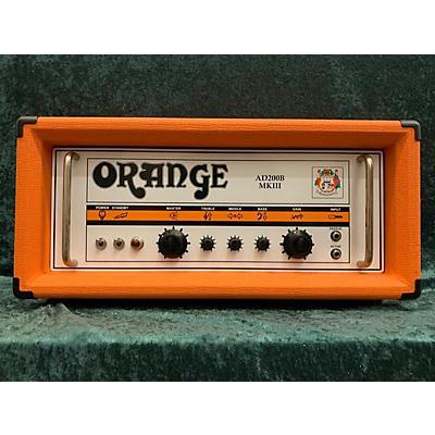 Orange Amplifiers AD200B 200W MKIII Tube Bass Amp Head