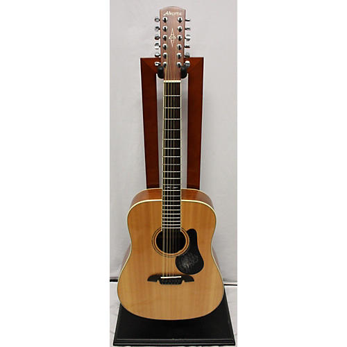 Alvarez AD60-12 Dreadnought 12 String Acoustic Guitar Natural