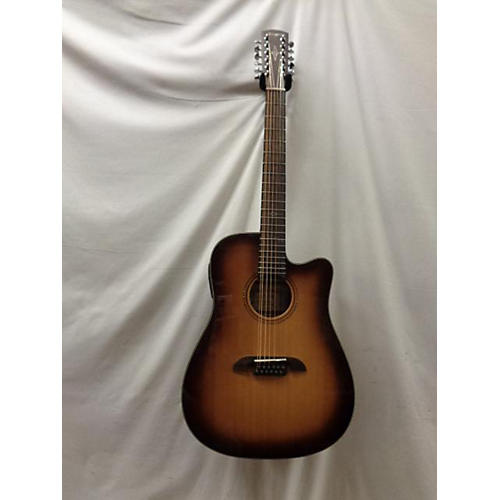 AD60-12CESHB 12 String Acoustic Electric Guitar