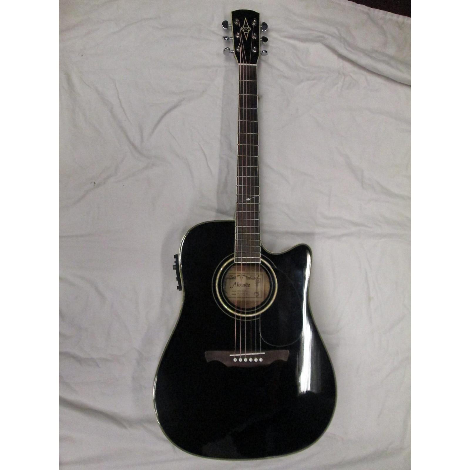 Alvarez AD60 Acoustic Electric Guitar