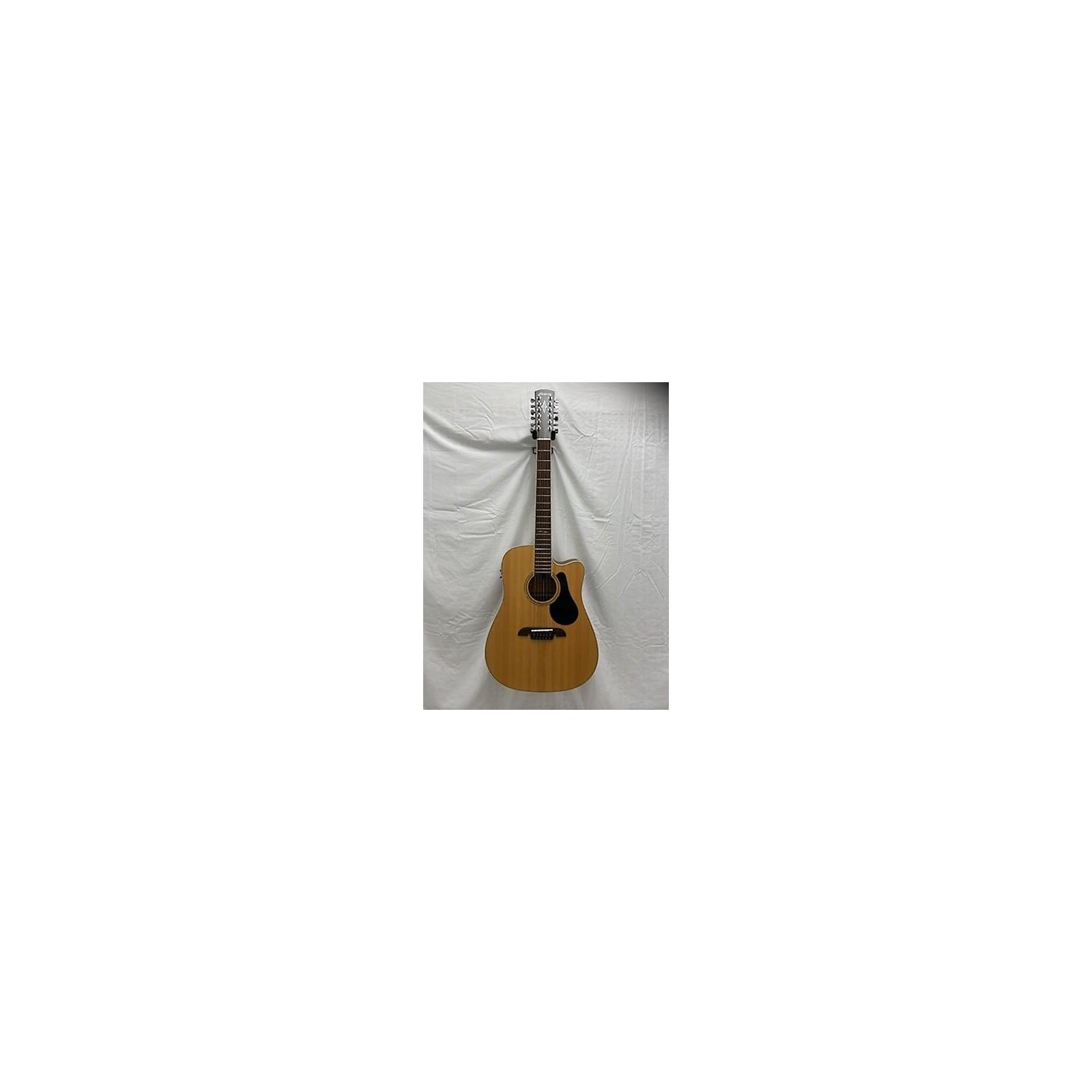 Alvarez AD6012CE 12 String Acoustic Electric Guitar