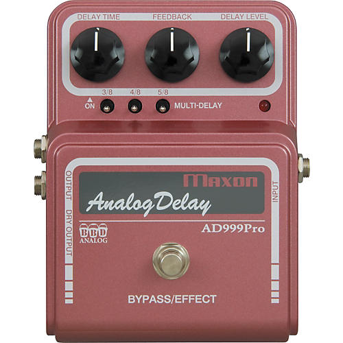 Maxon AD999 Pro Analog Delay Guitar Effects Pedal