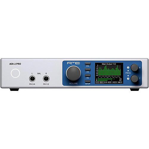 RME ADI-2 Pro USB 2.0 24 Bit / 768 kHz, 2 in / 4 out Hi-Performance AD/DA Converter