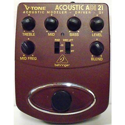 Behringer ADI21 V-Tone Acoustic Driver Direct Box