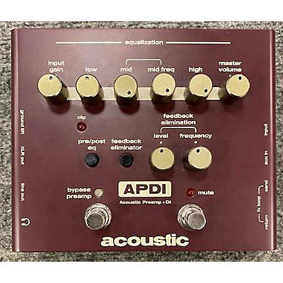 Acoustic ADPI Pedal
