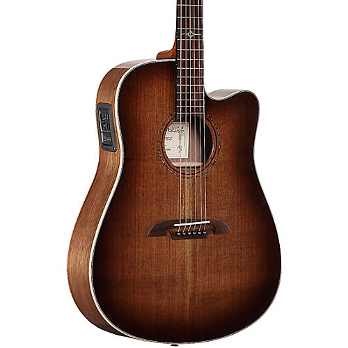 Alvarez ADWS77CESHB Artist Elite Dreadnought Acoustic-Electric Guitar
