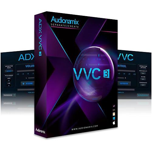 Audionamix ADX VVC 3 Lead Vocal & Melodic Volume Control